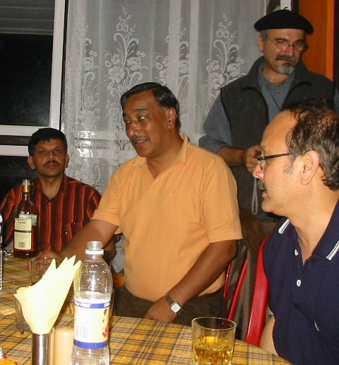 Rotarians in 2008 with JF